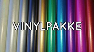 Bilde av Vinylpakke Shimmer glitter