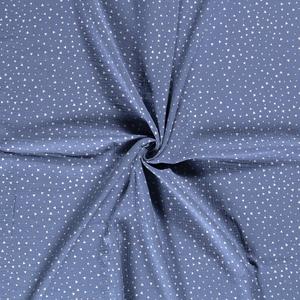 Bilde av Musselin triangler indigo