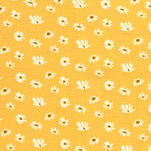 Bilde av Musselin blomst oker
