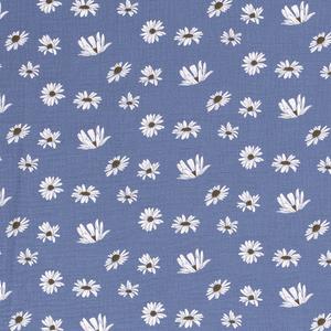 Bilde av Musselin blomst indigo