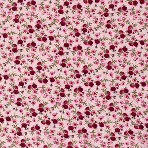 Bilde av Musselin Flowers print pink