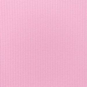 Bilde av Lys rosa ribbestrikket jersey