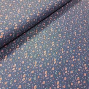 Bilde av Jersey Cute roses blue