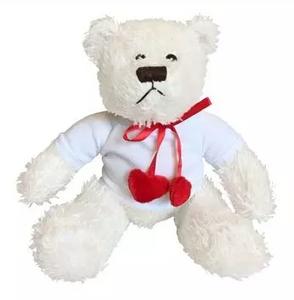 Bilde av Bamse hvit med hjerte