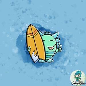 Bilde av Panel Jersey Monster surfer
