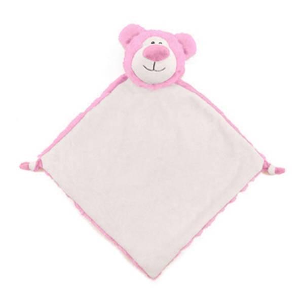 Blankie Bear Pink