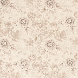 Bilde av Viskose/lin blomster beige
