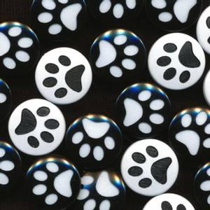 Bilde av Poter trykknapper plast 25