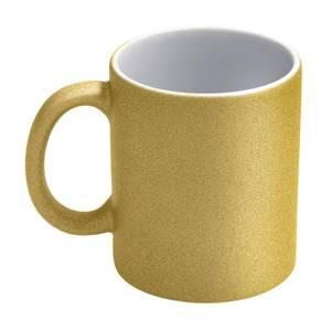 Bilde av Gull glitter sublimeringskopp