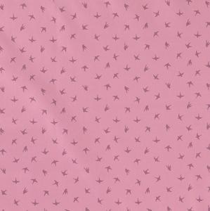 Bilde av Jersey Fugler silhouette rosa