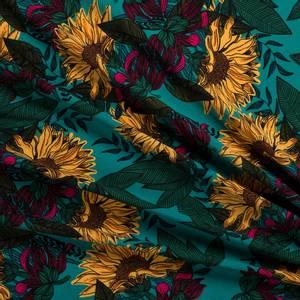 Bilde av Vevet viskose Sunflowers