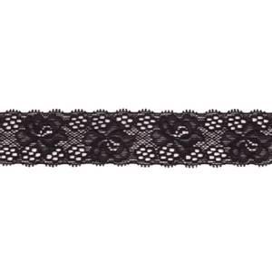 Bilde av Blonde elastisk 30 mm svart x