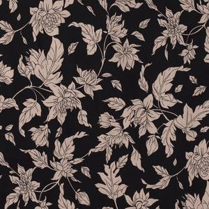 Bilde av Bengalin - blomster svart