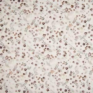 Bilde av Vevet bomull - Flowers mauve