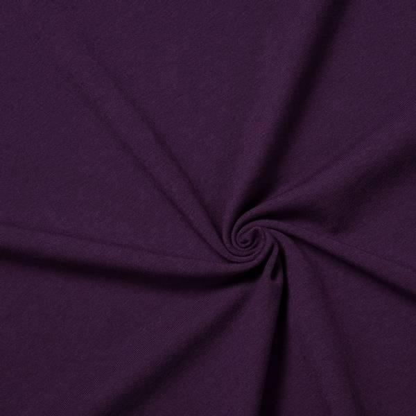 Aubergine lilla jersey 180 cm
