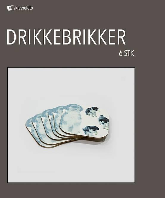Bilde av Drikkebrikker 6 stk