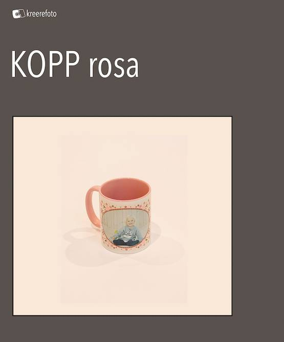 Bilde av Kopp rosa