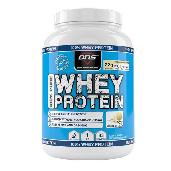 Bilde av 100% Pure Whey Protein Vanilje 1kg