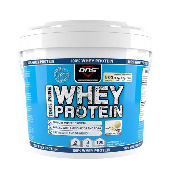 Bilde av 100% Pure Whey Protein Vanilje 3kg