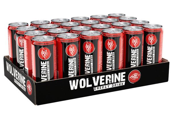 Bilde av Wolverine Energy Drink Regular - 24x 250ml