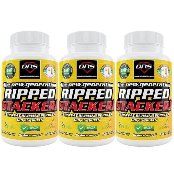 Bilde av 3-Pack Ripped Stacker! Ultra Fatburning Formula