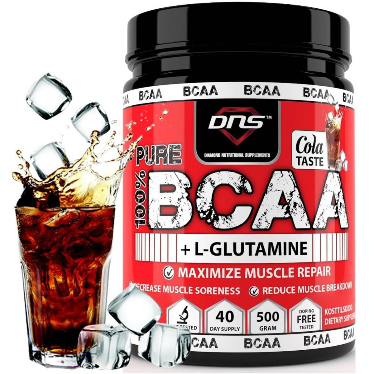 BCAA + L-Glutamin 500 gram Cola smak