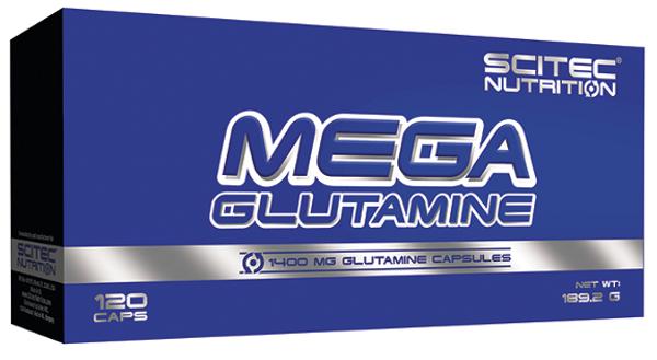 Bilde av Mega Glutamine - 120 kapsler