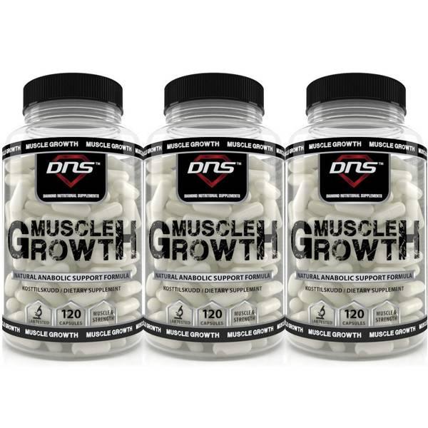 Bilde av 3-Pack Muscle Growth - 120 kapsler