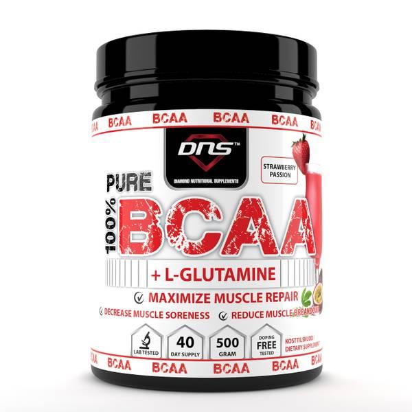 Bilde av BCAA + L-Glutamin 500 gram Strawberry Passion