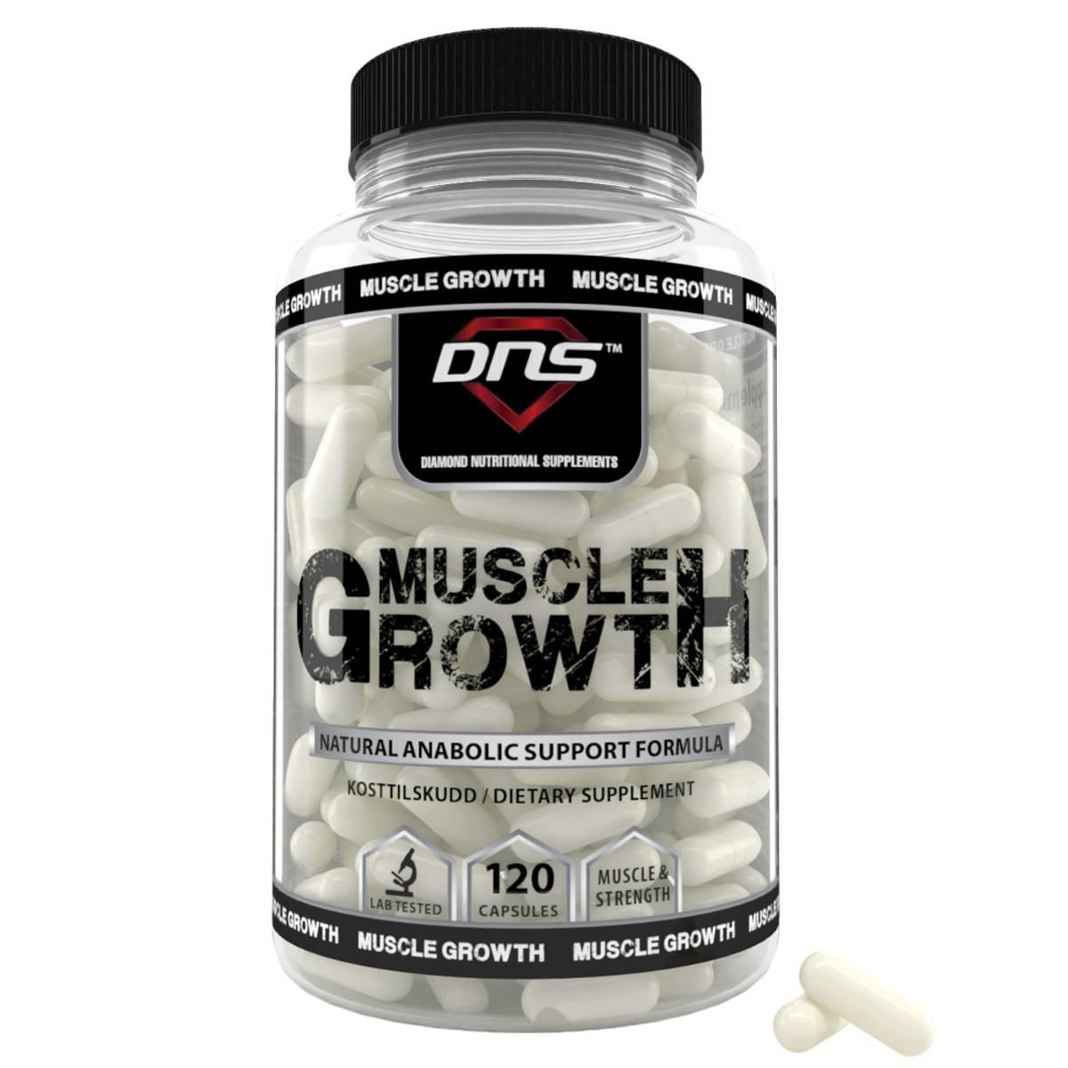 Muscle Growth - 120 kapsler
