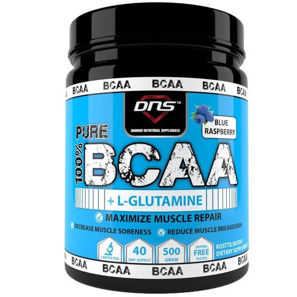 Bilde av BCAA + L-Glutamin 500 gram Blue Raspberry