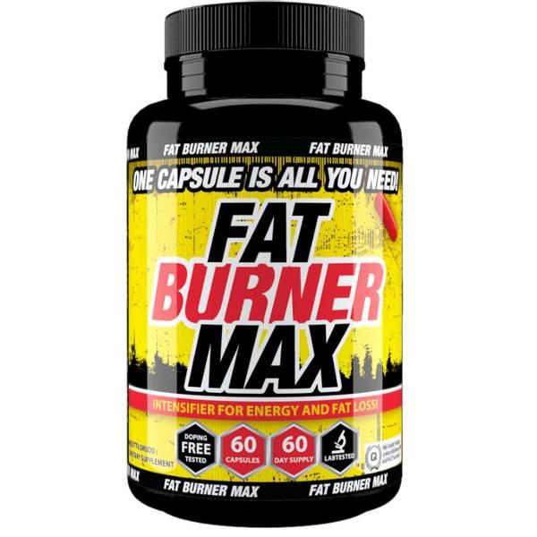 Bilde av Fat Burner MAX 60 kapsler - 2 mnd forbruk