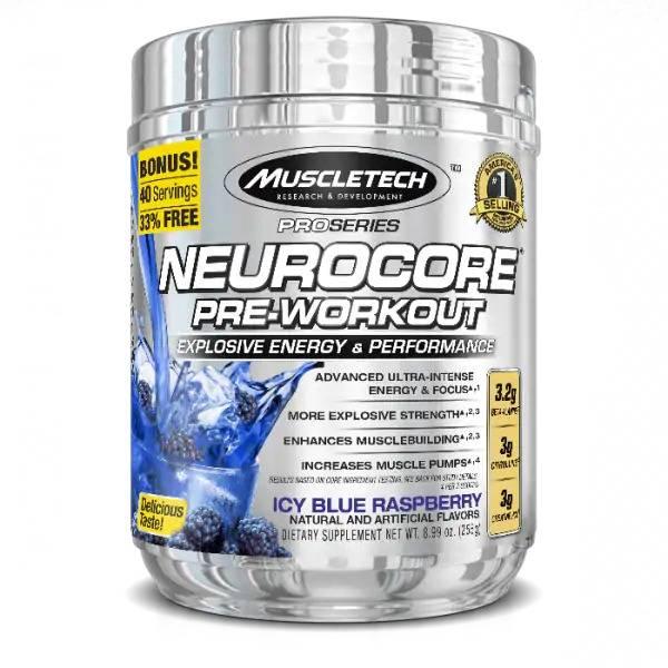Bilde av Neurocore Pre Workout - 50 serveringer