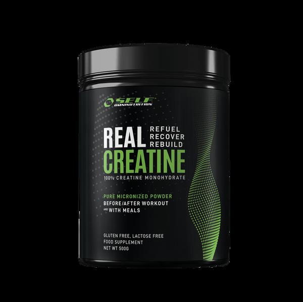 Bilde av Real Creatine Monohydrat - 500 gram