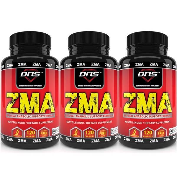 Bilde av 3-Pack ZMA 3x120 kapsler