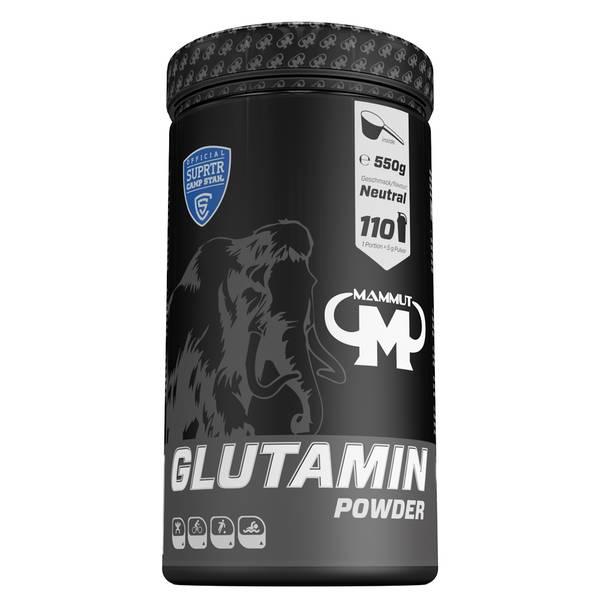 Bilde av Mammut - Glutamin pulver - 550g