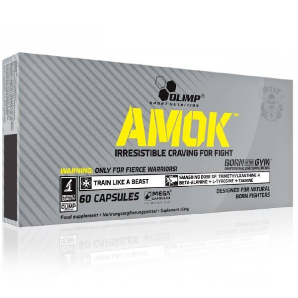 Bilde av AMOK PRE-WORKOUT 60 kapsler