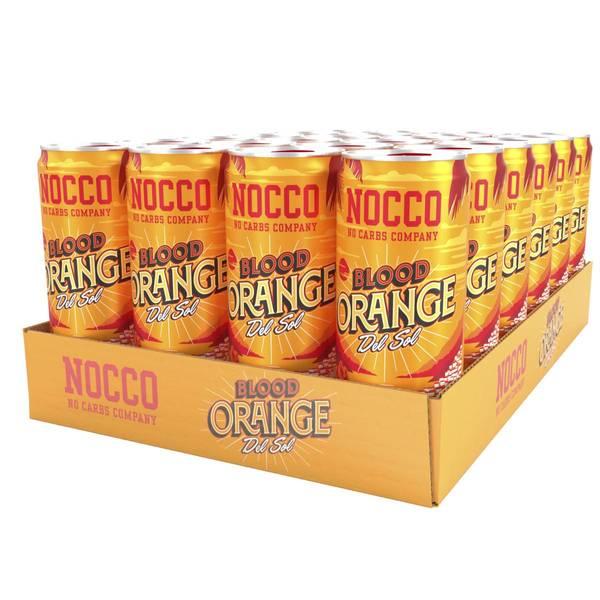 Bilde av 24 x 330ml Nocco Blood Orange - Inkludert pant