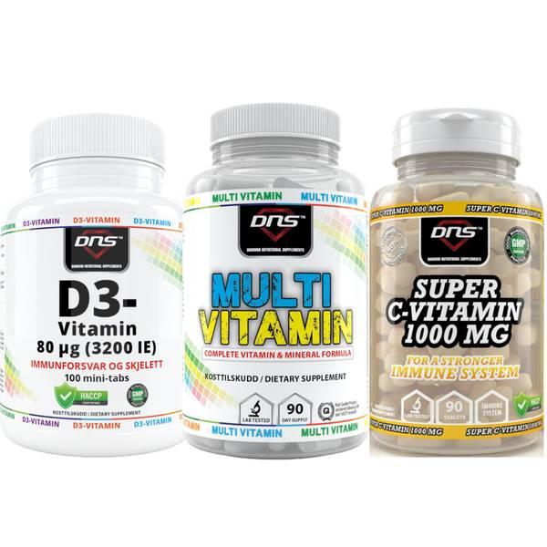 Bilde av Vitamin-pakken - Immunity Booster-pack!