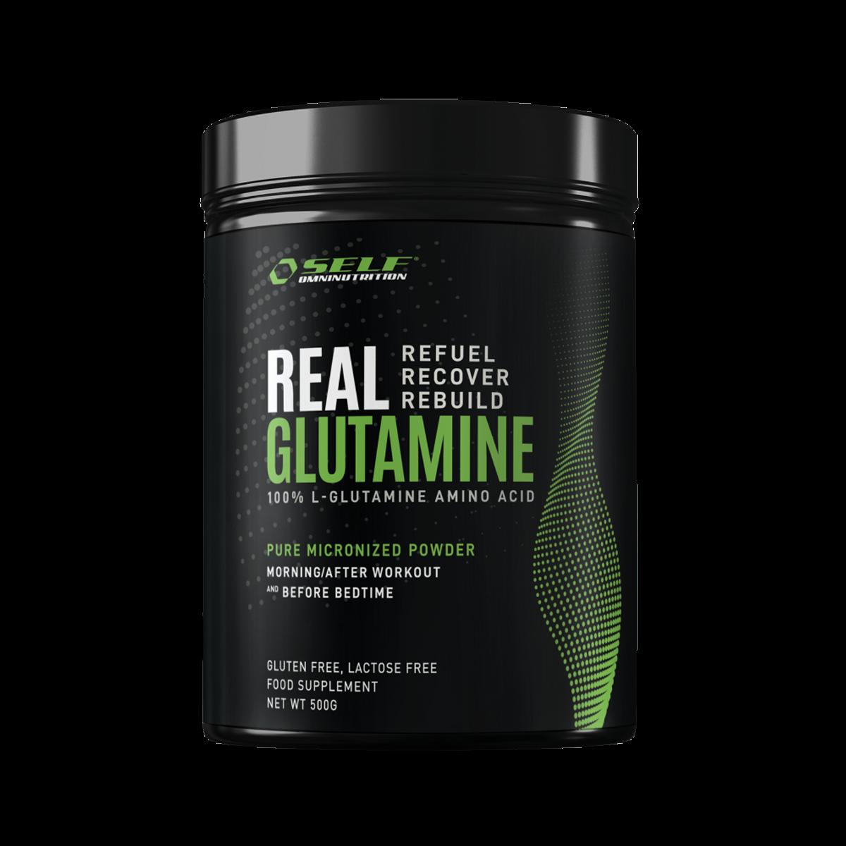 100% L-Glutamin 500 gram