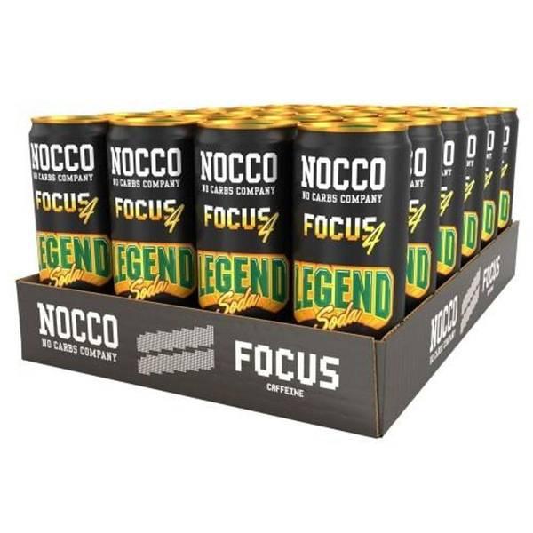 Bilde av 24 x 330ml Nocco Focus Legend Soda - Inkludert