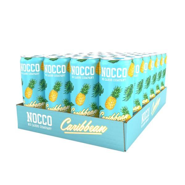 Bilde av 24 x Nocco BCAA Caribbean - Inkludert pant