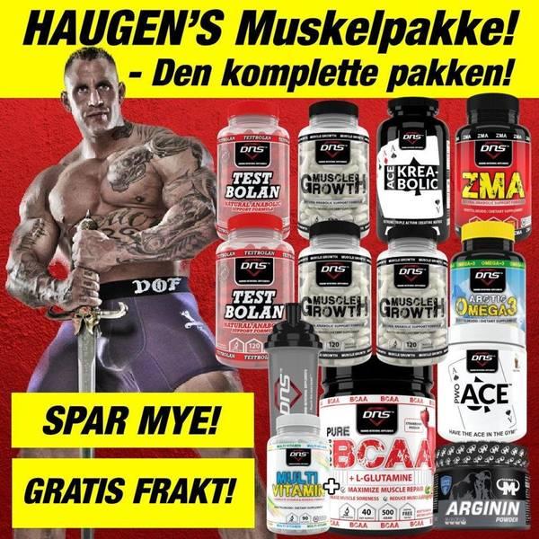 Bilde av Haugen's Muskelpakke - Bestselgere til uslåelig