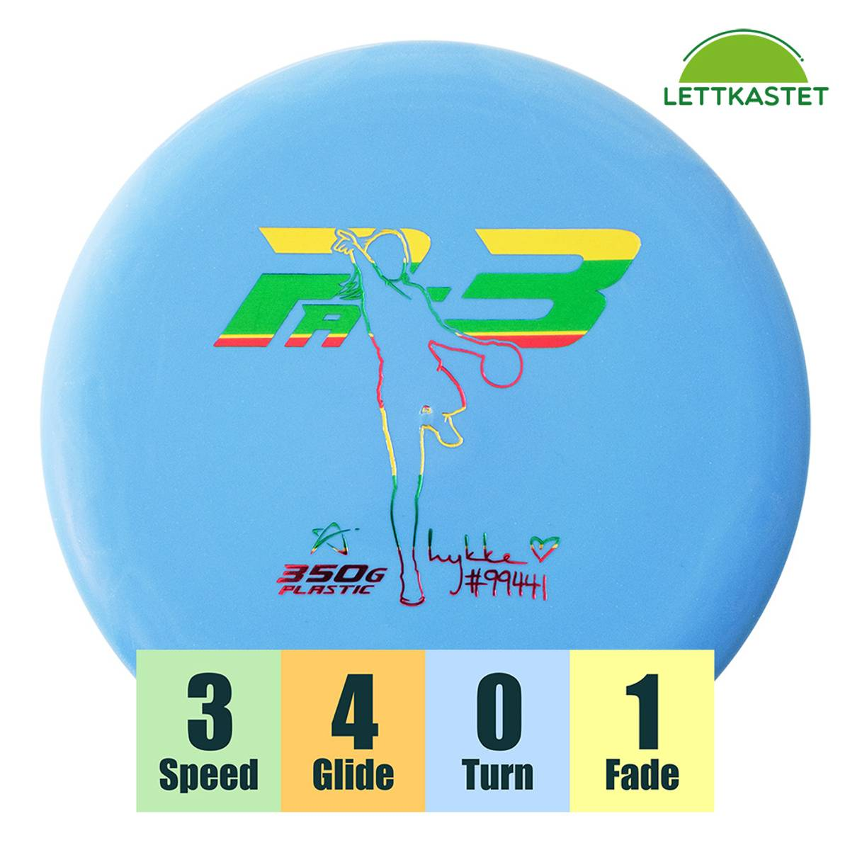 350G Plastic Pa-3 Lykke Lorentzen