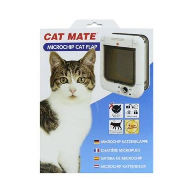 Bilde av Cat Mate Microchip katte luke