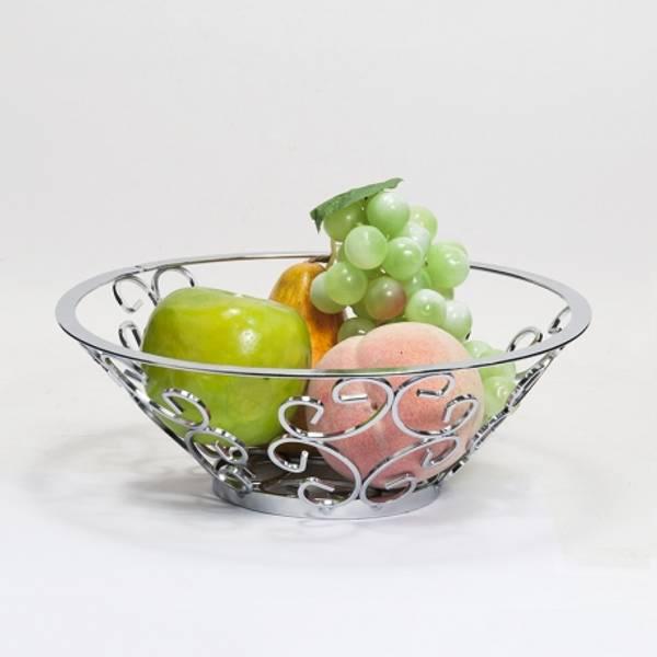 Bilde av Skål i metall Frukter