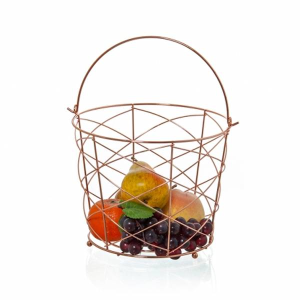 Bilde av Frukt skål i kobber
