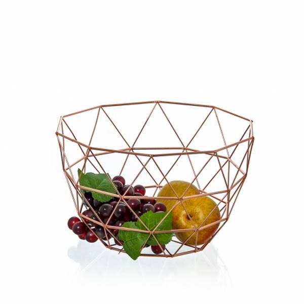 Bilde av Fruktskål i kobber I