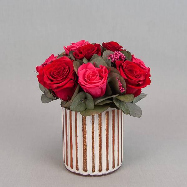 Bilde av Preserverte roser Vintage Red