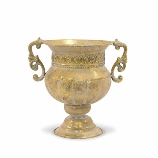 Bilde av Vase - gull metall